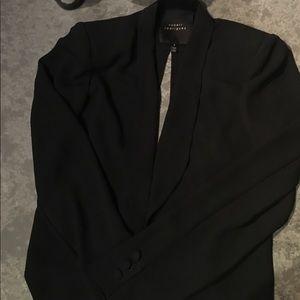 Robert Rodriquez Black Cropped Blazer
